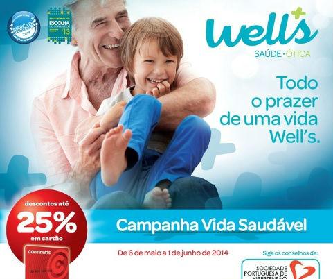 wells campanha vida saudavel