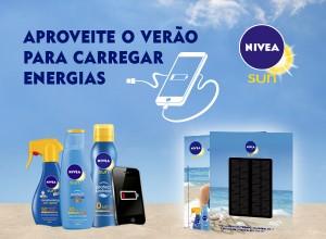 Nivea Passatempo Carregador solar