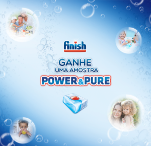 Finish Power&Pure Amostra