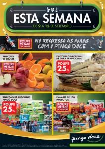 Folheto Pingo Doce 9-15 Set