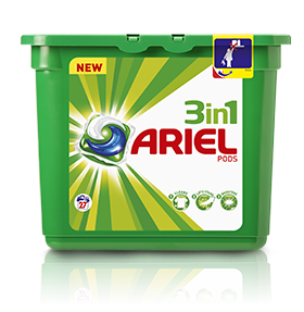 ariel amostra gratis