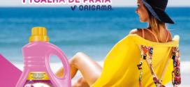 Woolite passatempo – ganha uma Toalha de praia Origama
